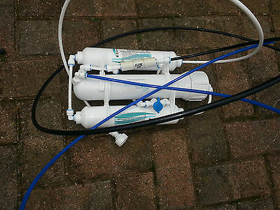 reverse osmosis/deionization system  for a fish tank