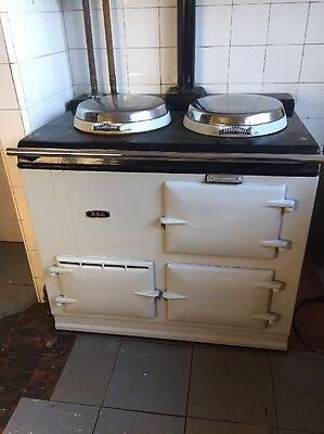 AGA Cooker Gas - Pearl Grey - 2 Oven - Already Dismantled Ready For Collection