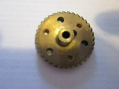 Meccano helical gear -Professionaly Drilled