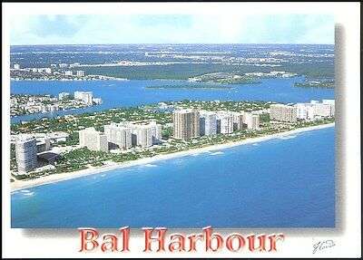 Postcard - Bal Harbour Florida North From The Sheraton Resort - Unposted