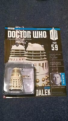Eaglemoss doctor who figurine collection - Issue 59: NECROS DALEK