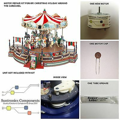 Mr Christmas Holiday Around The Carousel- -REPLACEMENT PART - MOTOR KIT