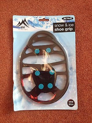 BNIP Active Shoe and Ice Shoe Grip Walking and Jogging Shoe Onesize