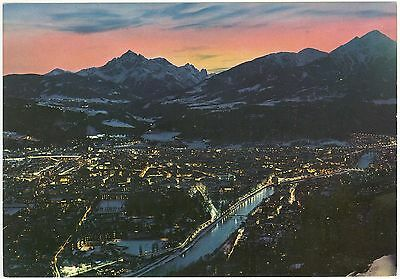 A Lovely View Of Innsbruck : From  Hungerburg At Sunset