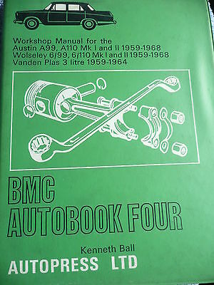 "Workshop Manual For Classic  Bmc ""b"" Engine Cars"