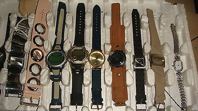 Trade Only Job Lot Of 10  X  Mixed  Watches 100% Gen.///