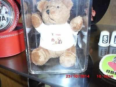 ABBA teddy in case