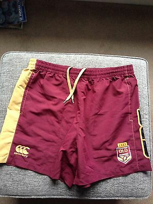 Queensland Rugby League Players Issue Shorts