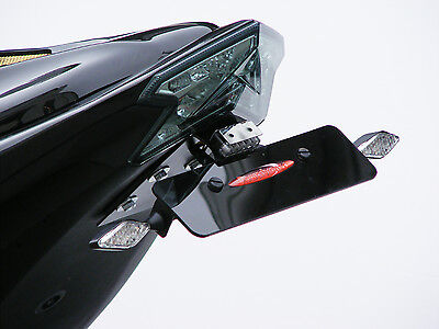 Kawasaki Z800 Number Plate Holder/Tail Tidy Black