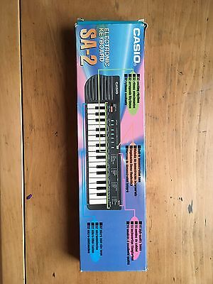 Casio SA-2 Small Electronic Music Keyboard. (Ideal for circuit bending)