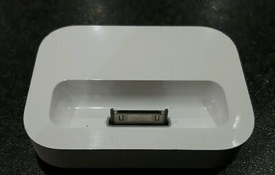 Original Apple iPod charging dock 2003 white with cable and plug