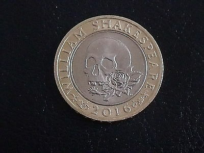 William Shakespeare's 2pound Coin (collectable)