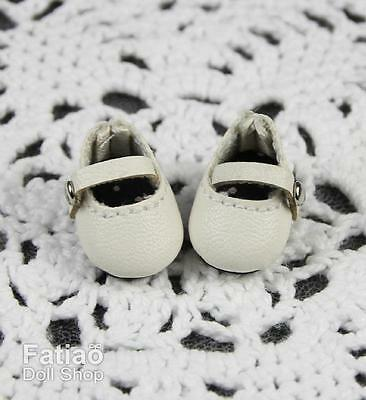 Fatiao - New fit for pukipuki puki Brownie BJD Doll Shoes - White