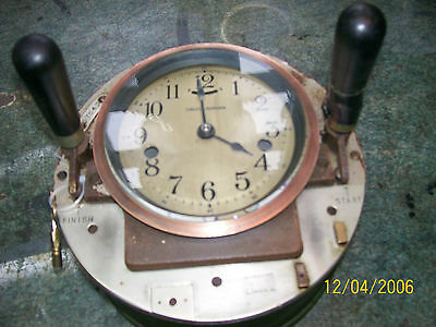 calcugraph. clock vintage factory counting clock gwo..