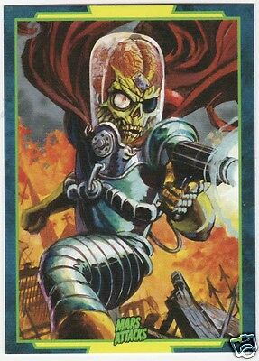 2016 Topps Mars Attacks Occupation Promo Card # P2 Warlord Of Mars