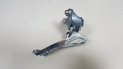 Shimano Claris 8 speed 28.6/31.8mm clamp on front derailleur (double/compact)