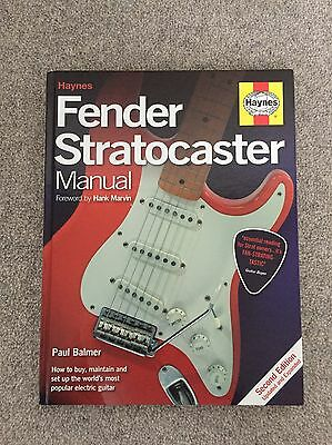 FENDER Stratocaster Book Manual - By Haynes