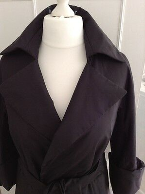 Vintage Hobbs Womans Silk Evening Theatre Opera Party Coat - S/M