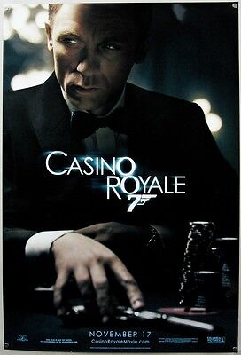 Casino Royale One Sheet Cinema Poster Near Mint