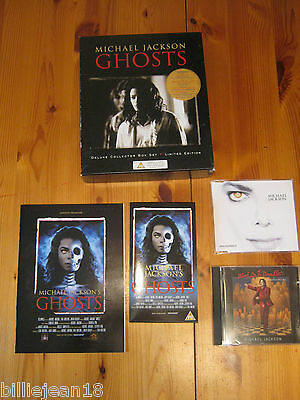 Michael Jackson Ghosts Deluxe Collector Box Set Limited Edition