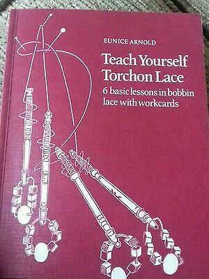 Lacemaking book Teach yourself Torchon Lace (Signed)