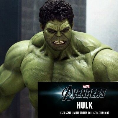 The Avengers Hulk Mms186 Mms 186 Hottoys Hot Toys Action Figure Pa Aq3988