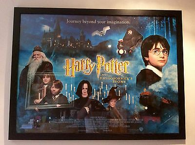 *Rare* Harry Potter And The Philosophers Stone UK Quad Poster Near Mint A Grade