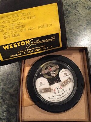 Brand New Weston Relay Model 723