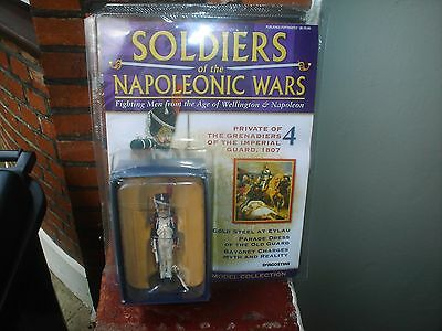 Napoleonic Wars 90Mm Lead Soldier With Booklet (New In Pack)