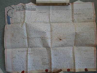 Vellum Asignment Coventry, Warwick, 1707