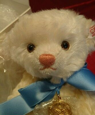 Steiff Limited Edition Royal Baby Bear 'George', with certificate, labels & box