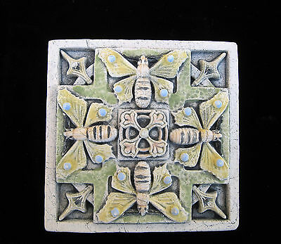 Butterfly  Garden  Arts And Crafts   Gothic Ellison Tile