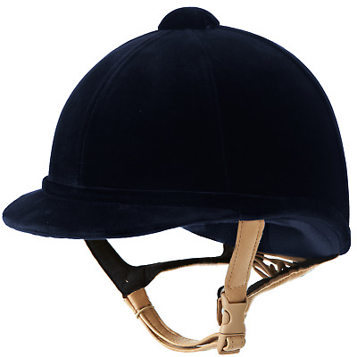 Charles Owen Hampton Riding Hat - Navy Blue