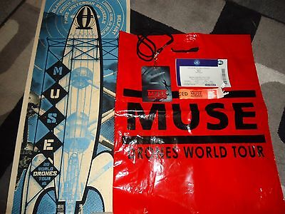 Muse Drones World Tour - Tour Bundle With Limited Edition Poster