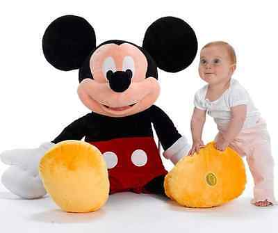 Disney Store Mickey Mouse Clubhouse 100cm 1 meter Giant Plush Soft Toy Authentic