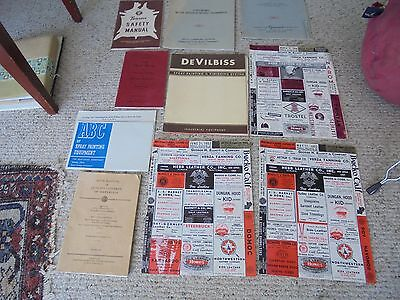 Vintage Leather Industry Manuals Catalogues Bulletins 1950's