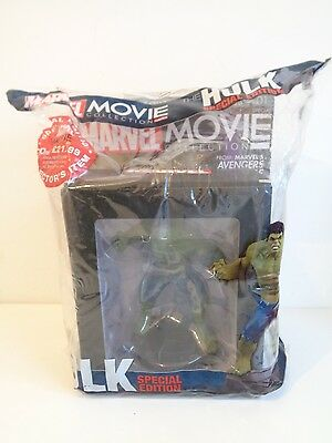 The Hulk - Eaglemoss Marvel Movie Collection Special Edition Figure+Magazine-New