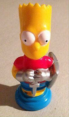 Simpson 3D Chess Pieces Red Bart