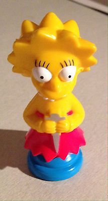Simpson 3D Chess Pieces Red Lisa