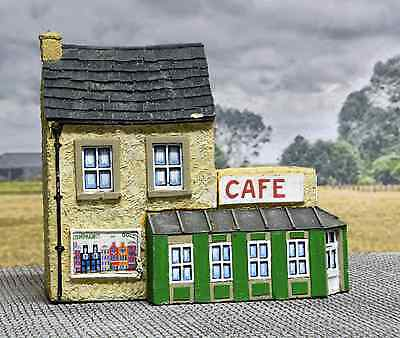 20mm Normandy Village Cafe. Resin. Britannia Miniatures. Painted.