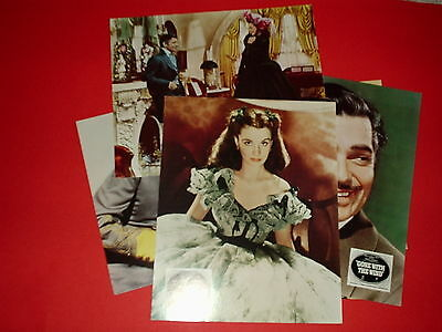 """"""" Gone With The Wind"""" - Original Foh 10X8 Lobby Cards(Uk) X 6"""