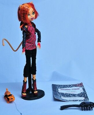 Monster High Toralei Doll Rare Excellent Condition