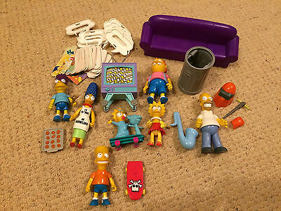 The Simpsons Figure Collection 1990