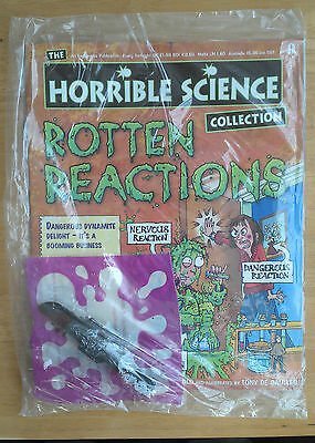 Brand new HORRIBLE SCIENCE magazine #9 - 'Rotten Reactions' (unopened)