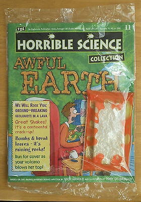 Brand new HORRIBLE SCIENCE magazine #11 - 'Awful Earth' (unopened)
