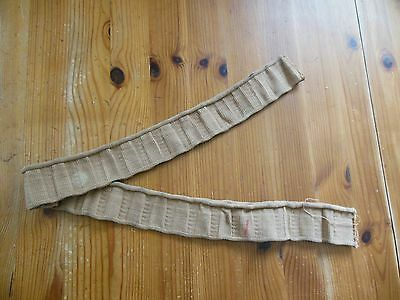 """1914 - 1950's Vickers MMG .303""""ammunition feed belt - 30 round lengths"""