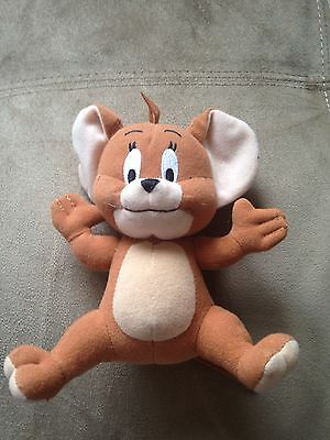 "Tom & Jerry - 7"" Soft Plush Toy - Jerry Mouse"