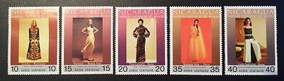 Nicaragua - Famous Coururiers - 5 stamps MH