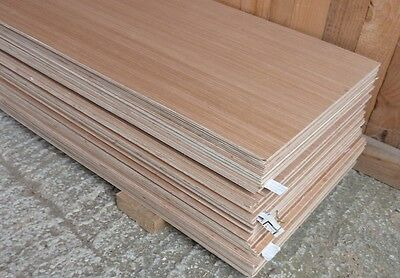 20 Pieces of New 5.5mm B/BB Exterior Grade Hardwood Faced Plywood 64½in x 17in