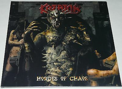 Kreator Hoards Of Chaos LP 2017 Gatefold Limited * RED* Vinyl + CD NEW
